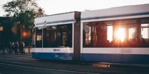 Ongeval tram Amsterdam