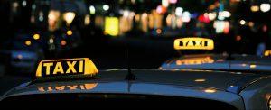 Taxi ongeluk